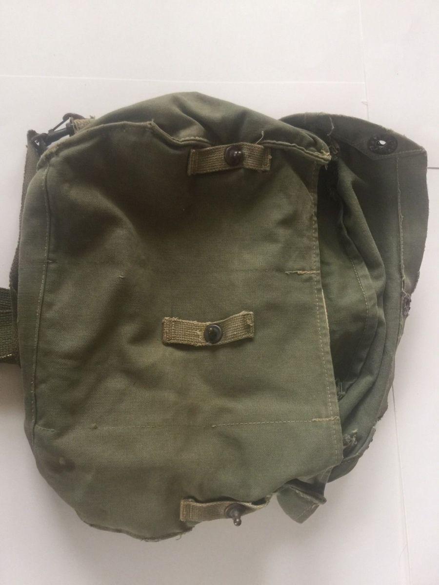 Vintage World War Ii Canvas Gas Mask Bag – Site Title