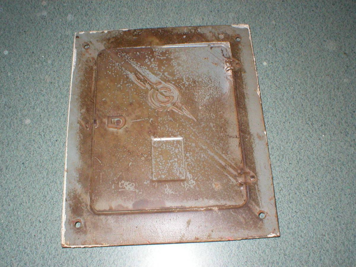 Antique Metal Steampunk Industrial General Switch Co  Fuse Box Panel Cover Only  U2013 Wishes And