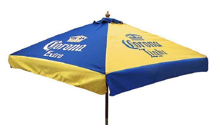 Corona Extra Corona Light 9 Foot Beer Umbrella Market