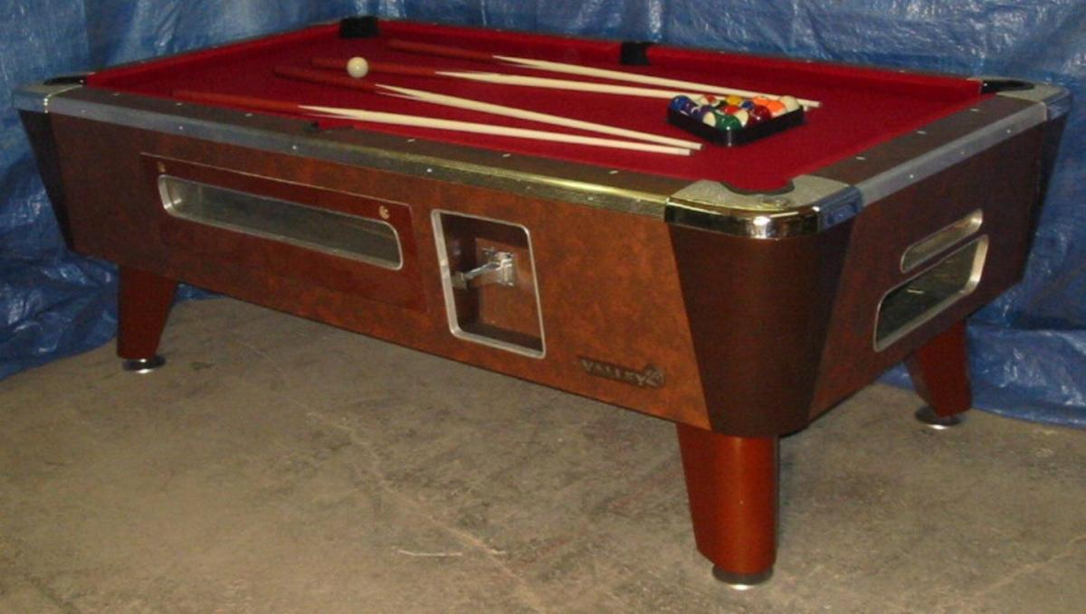 Valley Cougar Bar Size Commercial 7′ Coin-operated Pool ...