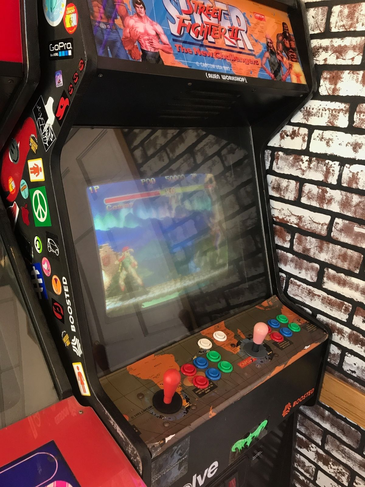 fighter 2 new challengers used arcade cabinet site title