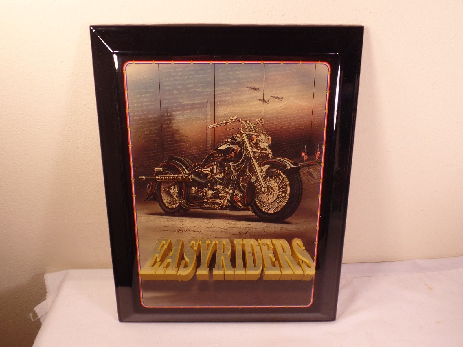 Motorcycle Home Decor : Easy riders harley davidson motorcycle home decor wood