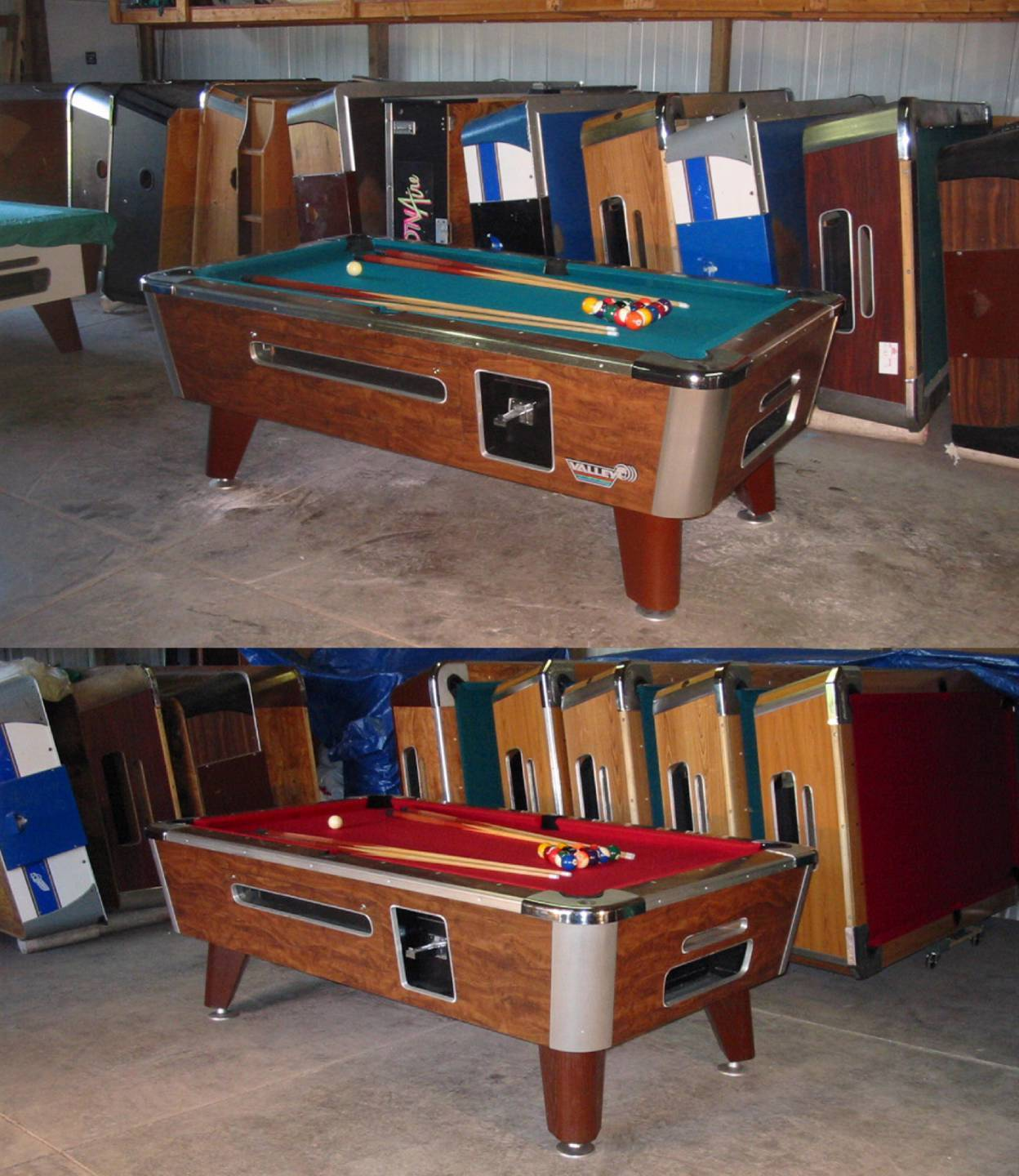 Valley Cougar Commercial 6 1/2′ Coin-op Pool Table Nice