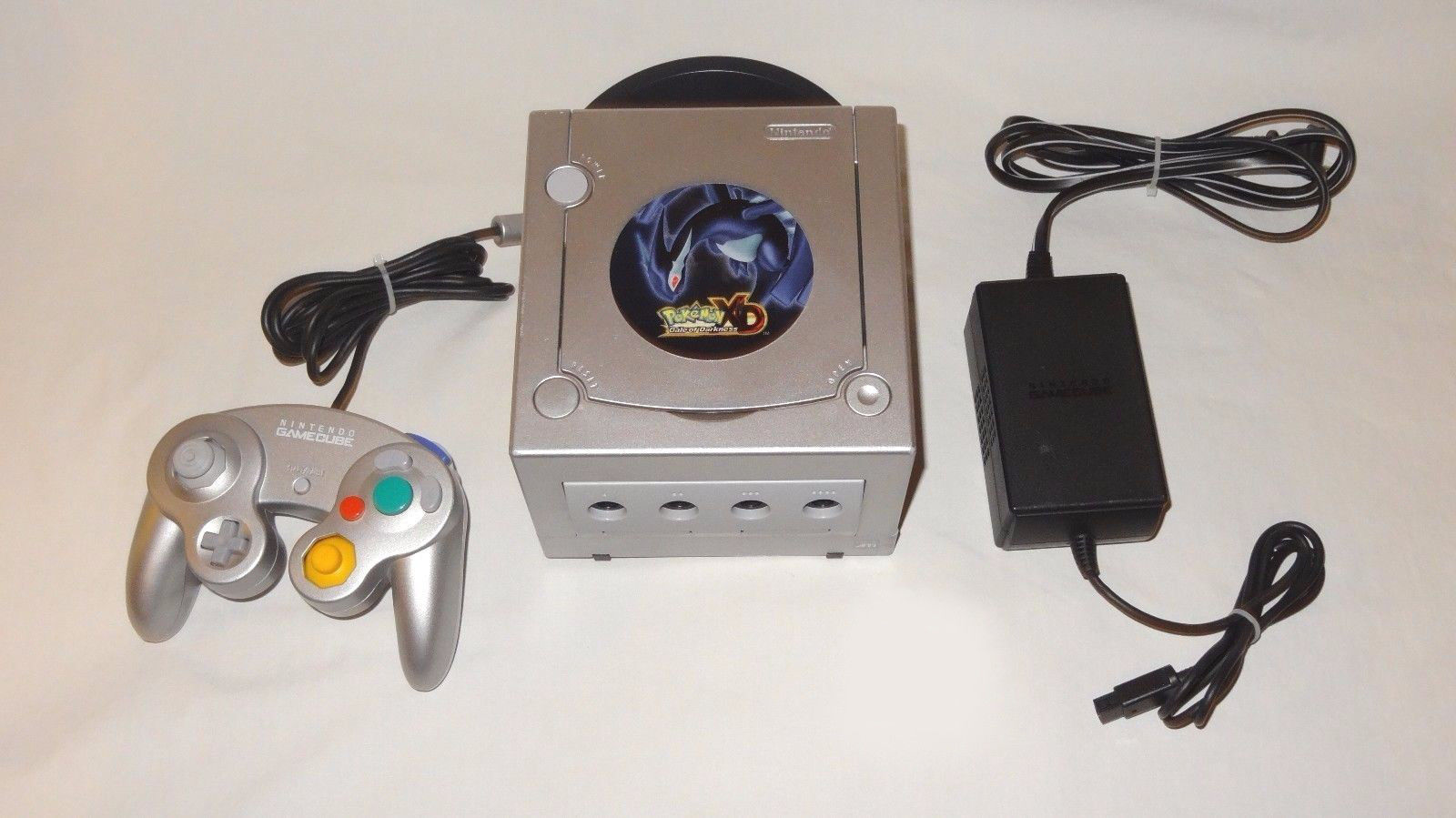 Nintendo gamecube pokemon xd limited edition gale of darkness console complete site title - Gamecube pokemon xd console ...