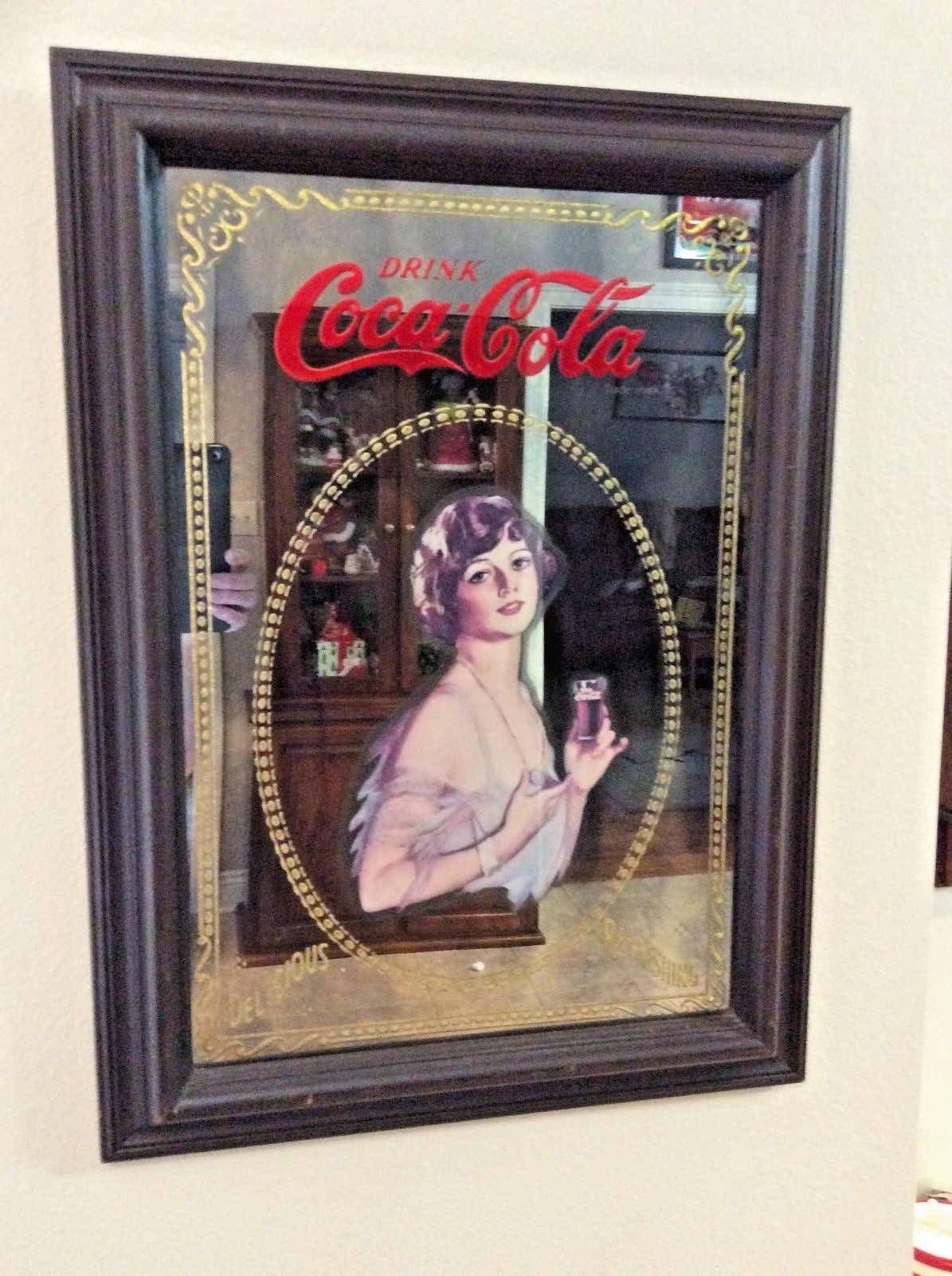 Vintage Coca Cola Advertising Mirror Site Title