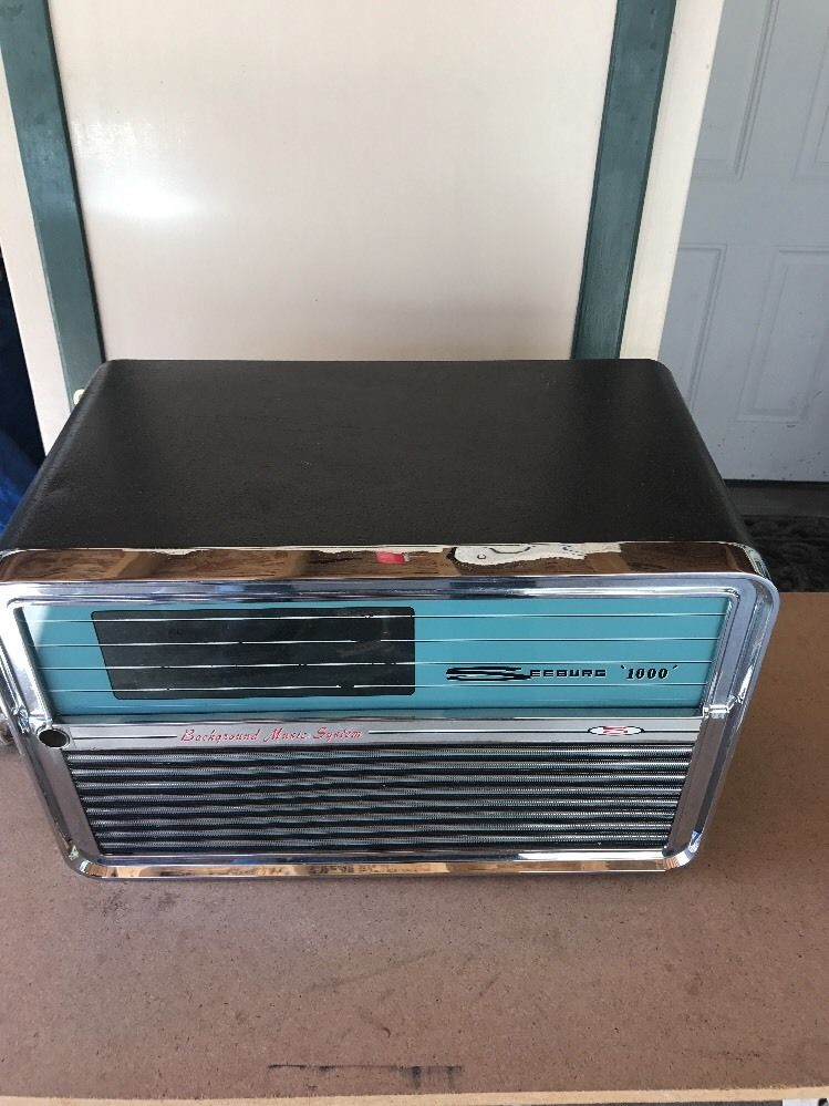 Original Vintage Seeburg 1000 Background Music Player ...