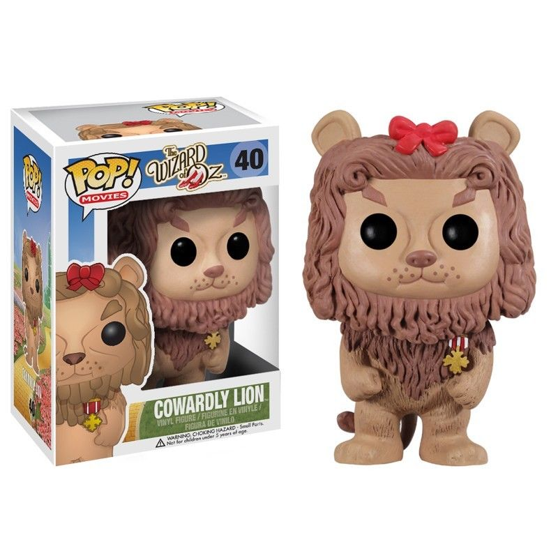 Funko Pop Movies Wizard Of Oz Cowardly Lion Vinyl Figure