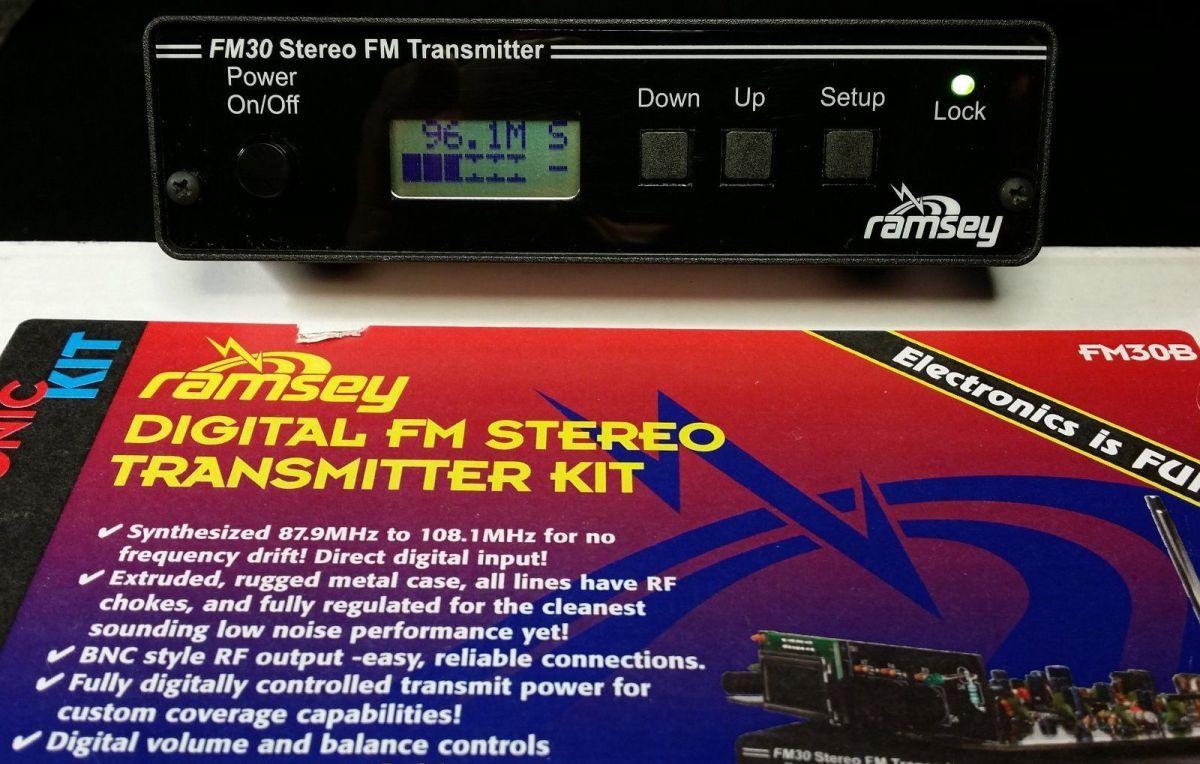 Ramsey Fm30b Digital Fm Stereo Transmitter Kit – Site Title