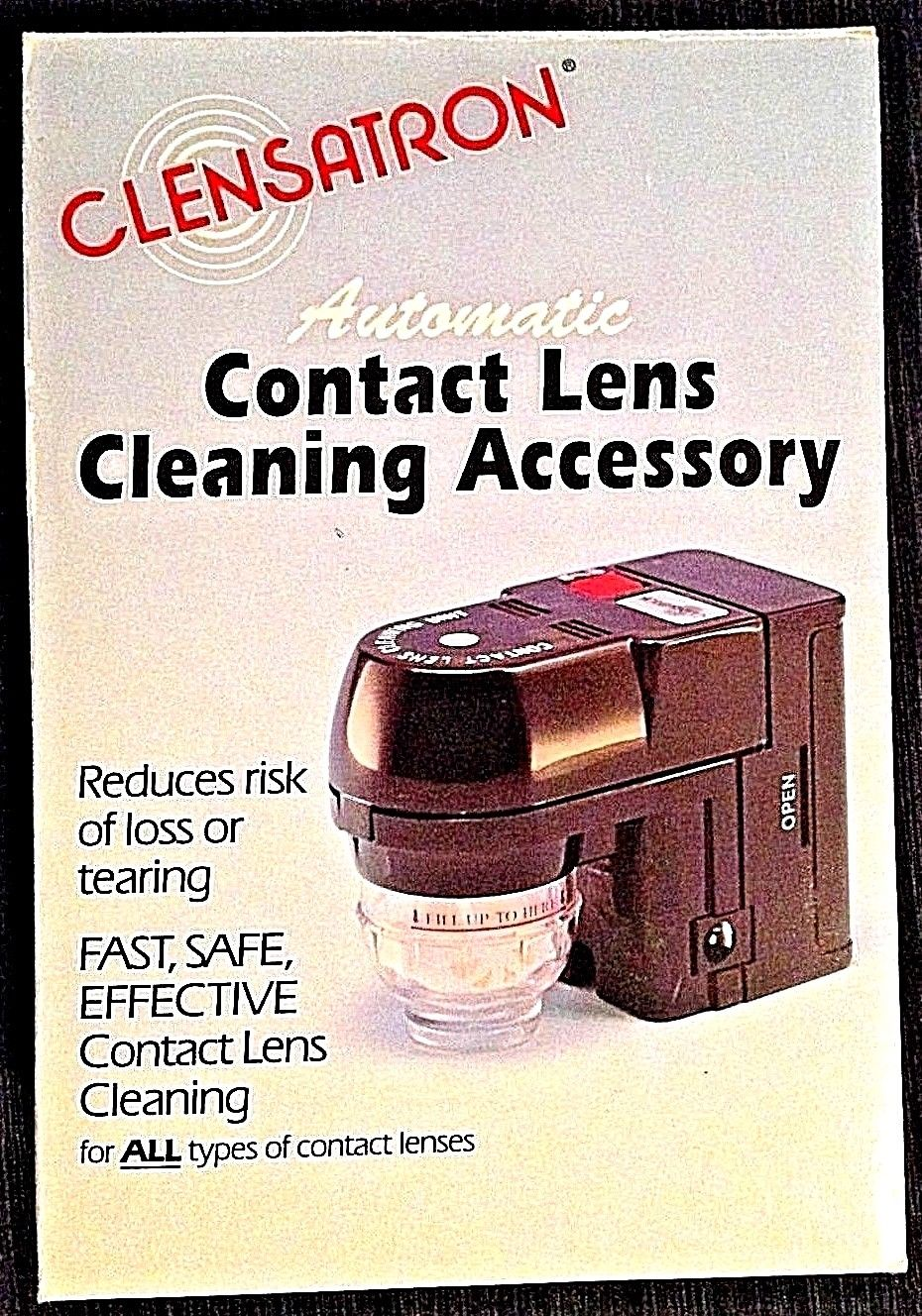 Clensatron 700cl Automatic Contact Lens Cleaning Machine